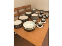 Denby 6 Piece Dinner Set with extras