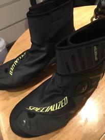Specialized Defroster Road Shoe Black / Hyper Green. Size EU 47