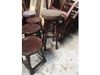 Pub bar stools pumps
