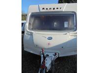 2008 Bailey Ranger 460/2 2 Berth Touring Caravan With Large Rear Washroom
