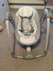 Ingenuity hoots and hugs swing great condition .. Was 85£ looking £35 as over head mobile missing