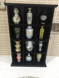 12 China Mini Vase Collection