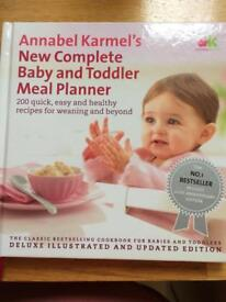 Baby and toddler meal book