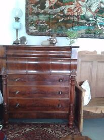 Mahogany Ogee Chest