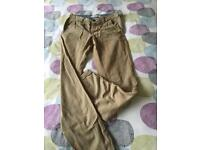New Look straight leg chinos, size 30L