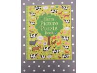 Usborne farm picture puzzle book