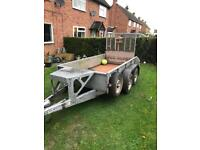Ifor Williams 8 x 4 trailer