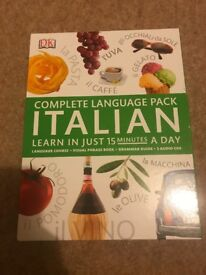 Learn Italian Pack (Books and CDs)