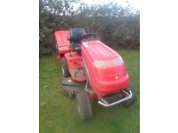 Countax Ride on lawnmower A25/50he includes sweeper / collector and scarifier