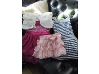 12-18 month baby girl dresses and skirt .2 items never worn.