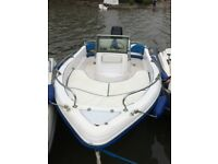 Ranieri 17ft Azzurra with 90hp Mercury outboard