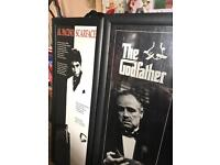 Film posters in frames/ PICTURES GODFATHER/SCARFACE