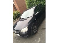 Black Vauxhall Corsa - Perfect first car