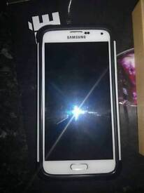 Samsung galaxy s5 white unlocked a1 condition
