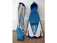 Fins SEAC Team Swim - NEW - size 36-37