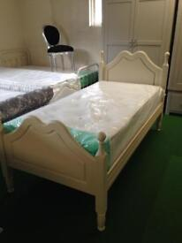 Single cream bed £120