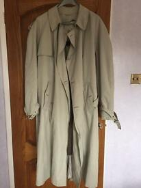 Man' trench coat