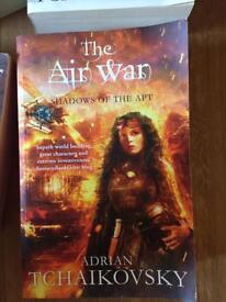 Full set of 'shadows of the apt' fantasy books