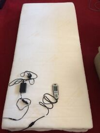 Single electric mattress