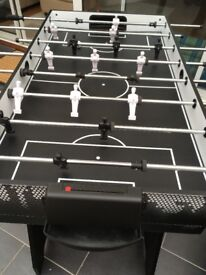 Hy-Pro 4 in one 4ft folding games table. Just over a month old and no longer used. Table Tennis etc