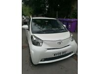 2009 Toyota IQ, top spec, leather interior and built-in satnav