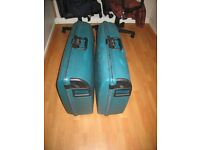 Carlton Hard Shell Suitcases x 2