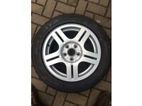 "Vw Passat 16"" alloy Montreal with new 205/55R16 Haida tyre for sale  Brackley, Northamptonshire"