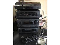Jvc mx37 stereo system