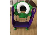 Froggie Toddler seat with ladder