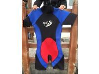 Adult shortie wetsuit