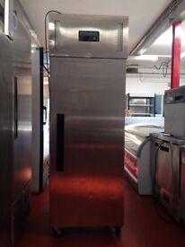 polar upright single door freezer in good working order