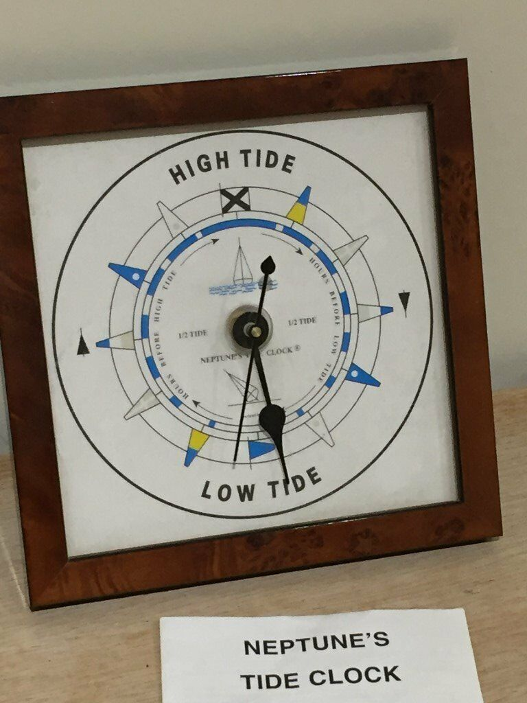 Tide clock - indicates high/low etc tides at your selected location - £10