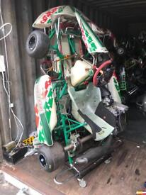 Rotax max senior Tony Kart Breaking All Parts Available