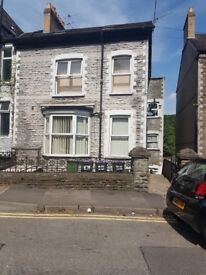 1 Bedroom Basement Flat with lovely size garden with decking & back entrance.
