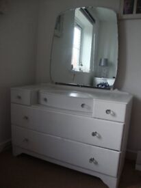 PRE-OWNED DRESSER ( PALE FRENCH GREY )