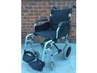 Van Os Excel G3 aluminium lightweight foldable transit wheel chair