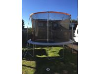 As new only used a few times Sports power 12ft trampoline