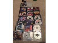 Sony Ps1 console and game bundle