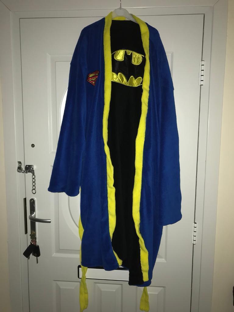 Reversible superman batman xlarge