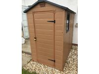 6x4 plastic garden shed