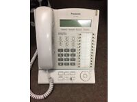 4 PANASONIC OFFICE PHONES