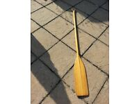 Dinghy, Rowing Boat or CANOE PADDLE canadian pine 170 cm x 15 cm