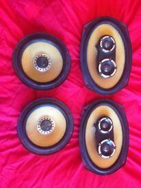 Vibe black air speakers