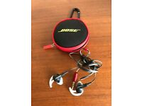 BOSE EAR PHONES AND BOSE CASE