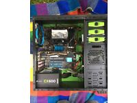 AMD FX-8350 Black edition Gaming PC with 1 TB total storage for games