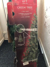 green 6ft xmas tree