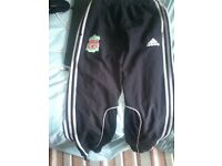 adidas liverpool track bottom