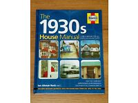 (NEW book) The 1930s House Manual: Care & Repair for All Popular House Types (Haynes, Hardcover)