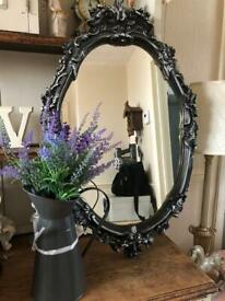 Beautiful ornate mirror