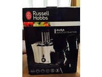 BRAND NEW BOXED Russell Hobbs Aura Whole Fruit Juice Extractor